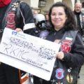 Spendenübergabe an Angelo-Stiftung