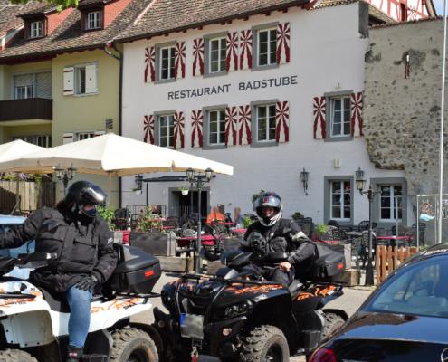Fotografie Red Knights Germany 1 Visit CH 1 Ausfahrt Deutsche Quadfahrer in der Schweiz