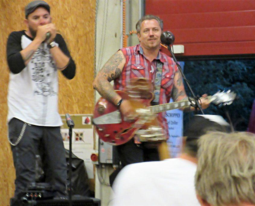 Live Musik zum Sommerfest
