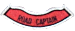 jhv red knights road captain patch