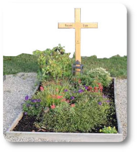 reknights germany1 memorial-run 2018 padre besuch auf friedhof grab