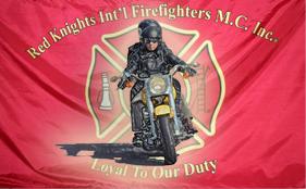 red knights biker logo